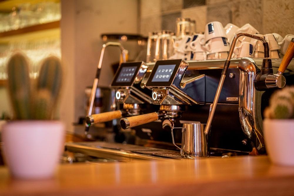 Siebträger Kaffeemschine